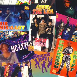 THE RAP PACK - THE RAP PACK MUSIC TRADING CARDS - 1991