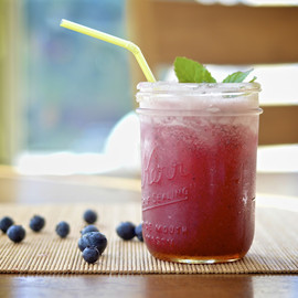 Blueberry Mint Margaritas