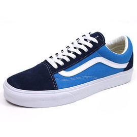 VANS, Skateboarder Magazine - OLD SKOOL/NAVY×SKY BLUE