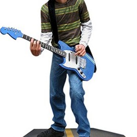 NECA - Nirvana - Action Figure : Kurt Cobain ( Smells Like Teen Spirit )