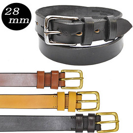 Real Harness - SADDLELEATHER BELT 28mm