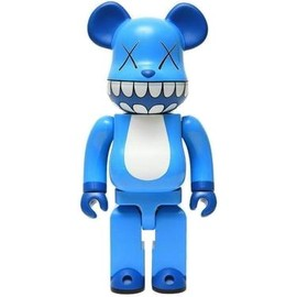 KAWS - bearbrick 1000% a-nation
