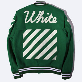 OFF-WHITE - Letterman Varsity Jacket