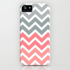 Society6 - Chevron Pink Fade iPhone & iPod Case by RexLambo