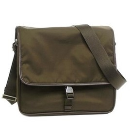 PRADA - V166 messenger bag (tobacco)