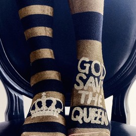 Stance - Stance Save the Queen Boot Socks