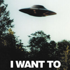 I WANT TO BELIEVE ポスター