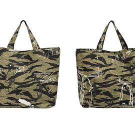 FUTURA LABORATORIES - Tote Bag - Tiger Camo