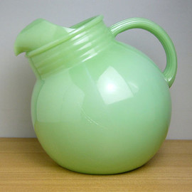 Fire King - Jadeite RW Ball Pitcher