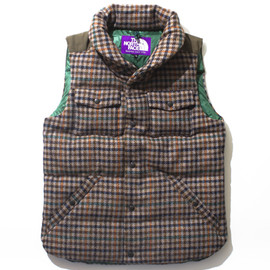 nanamica×THE NORTH FACE - Harris Tweed Down Vest