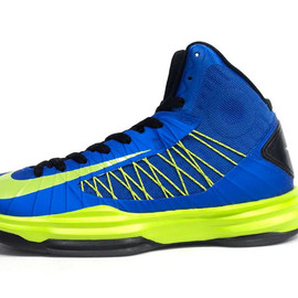 NIKE - LUNAR HYPERDUNK 2012 「LIMITED EDITION for NONFUTURE」 BLU/L.GRN/BLK