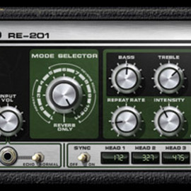 universal audio - RE-201 space echo plugin