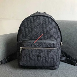 Dior - Dior Oblique Backpack Black