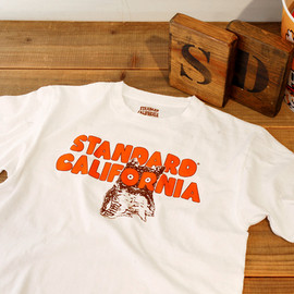 STANDARD CALIFORNIA - HOOTERS×SD 10th ANNIVERSARY Tシャツ