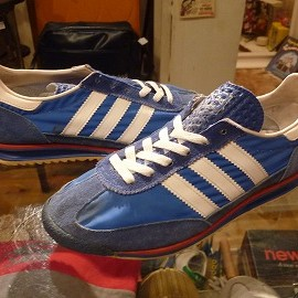 "adidas - 「<used>70's adidas SL 72 tricolor""made in WEST GERMANY"" size:GB5/h?(24cm?) 7800yen」販売中"