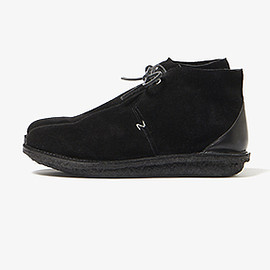 nonnative - PILGRIM CHUKKA BOOTS COW LEATHER by CAMILLE TANOH