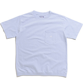 THE NORTH FACE PURPLE LABEL - High Bulky H/S Pocket Tee-SX