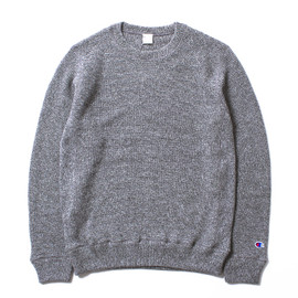 nanamica×Champion - THERMOLITE® Wool Crew Neck Sweat