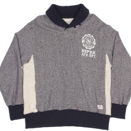 BBP - ATHLETIC DEPT. SHAWL-COLLARED SWEATSHIRT