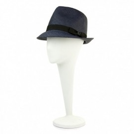 Maison Michel - Paul navy straw hat