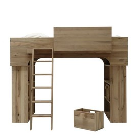 Pilat & Pilat - Hichte massief hout bunk bed