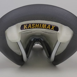 kashimax - AERO CUSTOM FAKE LETHER GRAY/WHITE