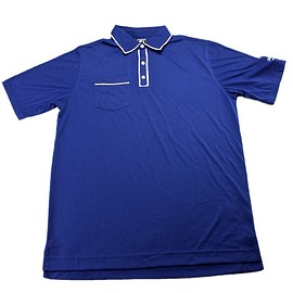 FootJoy - FootJoy Athletic Fit Polo Shirt in Blue Mens Size XL
