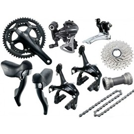 Shimano - 105 (5700) Black 10spd TT Groupset