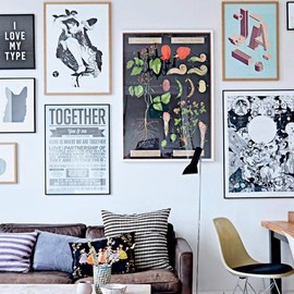 my scandinavian home - THE COOL COPENHAGEN HOME OF A TYPOGRAPHER