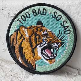 STAY HOME CLUB - TOO BAD IRON-ON PATCH