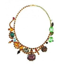 Tom Binns - MULTI COLOUR BIG JEWEL CRYSTAL NECKLACE