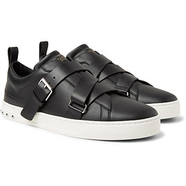 VALENTINO - V-Punk Leather Sneakers