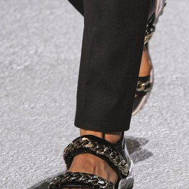 GIVENCHY by Riccardo Tisci - Palladio Chain Sandals