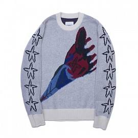 TAKAHIROMIYASHITA The SoloIst - crew neck rocket sweater.