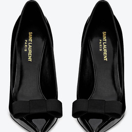 Yves Saint Laurent - bow/heels