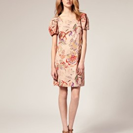 SEE BY CHLOE - Image 4 ofSee by Chloe Floral Twisted Open Back Dress