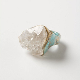 Anthropologie⎟Earth & Ore Cocktail Ring