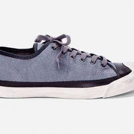 CONVERSE,  John Varvatos -  Charcoal Jack Purcell Sneakers