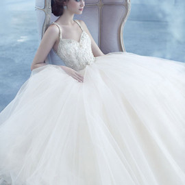 lazaro wedding dress spring 2013 tulle ball gown sweetheart beaded straps style lz3319