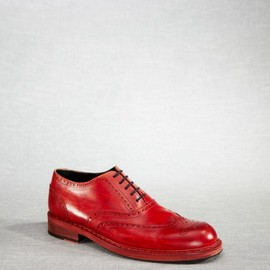 Acne - Bleeker Brogue Red