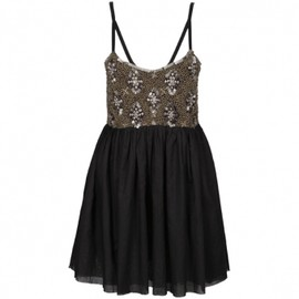 One Teaspoon - BLACK GOLDRUSH DRESS