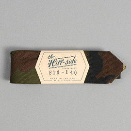 The Hill-Side - BTN-140 - HUNGARIAN CAMOUFLAGE PRINT BOW TIE, OLIVE / BROWN