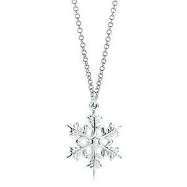 Tiffany - Snowflake Necklace