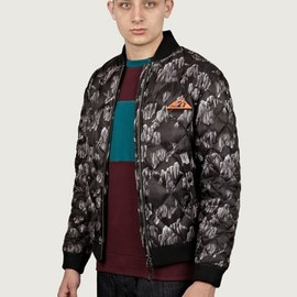 Adidas x Opening Ceremony - Men's Rock Print Quilted Bomber Jacket