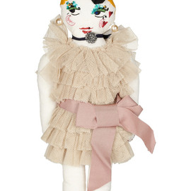 LANVIN - Embellished cotton doll