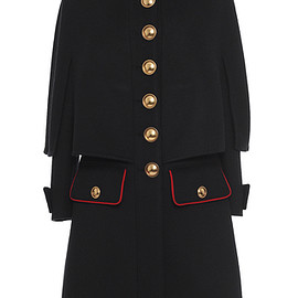BURBERRY - FW2016 Cashmere Military Cape Coat