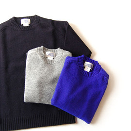 Shetlandwool Crew Neck Patch