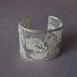 MAISON RUBUS - recollection lace bangle(LL)