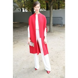 VALENTINO - red coat style