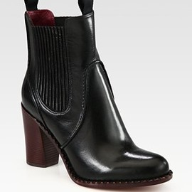 MARC BY MARC JACOBS - Chelsea Leather Ankle Boots